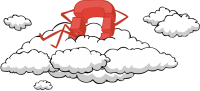 openstack logo on cloud